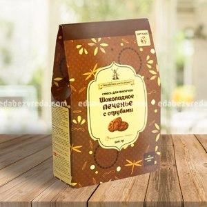 Смесь для Печенья с отрубями ШОКОЛАДНОЕ Diet Bake, 500 г.);