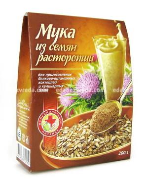 """Мука из семян расторопши """"Специалист"""" , 200 гр);"""