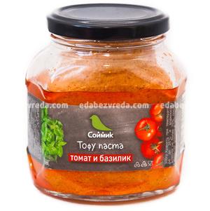 "Тофу-паста ""Соймик"" Томат и базилик, 260 г.);"