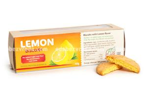 Печенье песочное со вкусом Лимона Fit&Sweet , 40 гр);