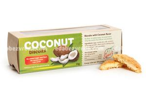 Печенье песочное со вкусом кокоса Fit&Sweet, 40 гр);