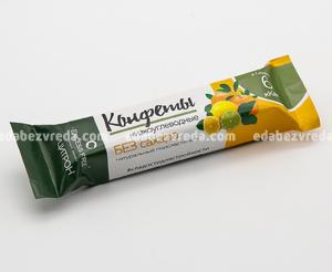 """Низкоуглеводные конфеты """"Цитрон"""" Excess Free, 55 г.);"""