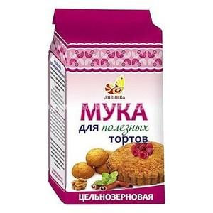 """Мука для тортов цельнозерновая """"Дивинка"""", 700 г.);"""