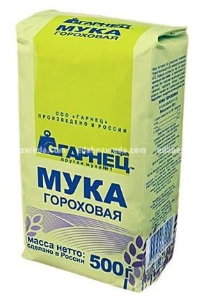 """Мука гороховая """"Гарнец"""", 500 г.);"""