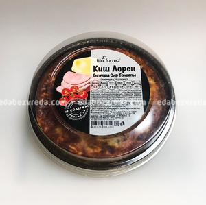 Киш Лорен с ветчиной и томатами черри Excess Free, 350 г.);
