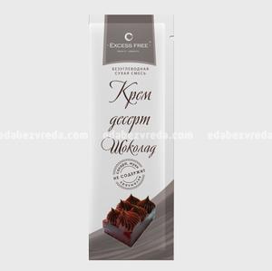 Крем-десерт бескалорийный Excess Free Шоколад, саше 30 г.);