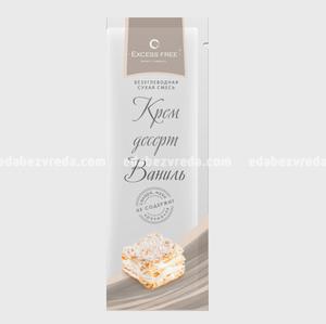 Крем-десерт бескалорийный Excess Free Ваниль, саше 30 г.);