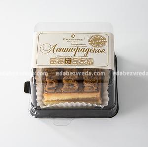 """Торт-пирожное Excess Free """"Ленинградское"""", 90 г.);"""