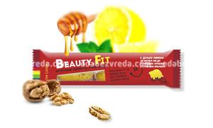 Натуральные низкоуглеводные конфеты Beauty.Fit Лимон с мёдом, 63 г.);