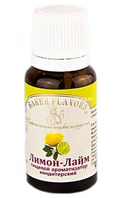 Ароматизатор пищевой Baker Flavors Лимон-Лайм, 10 мл.);
