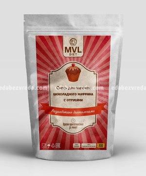 Смесь для маффина шоколадного Dit Bake, 350 г.);