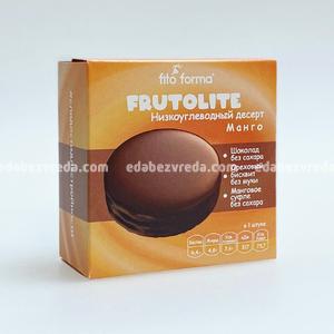 Десерт низкоуглеводный FrutoLite Fito Forma Манго, 55 г.);