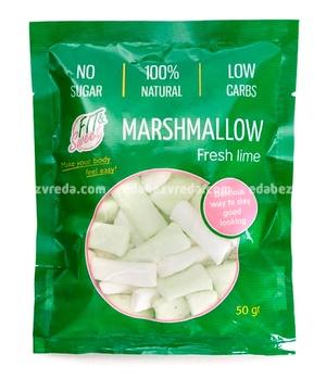 Маршмеллоу Fit&Sweet Лайм, 50 г);