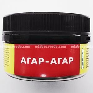"""Агар-агар """"Продуктовая Аптека"""" , 40 г.);"""