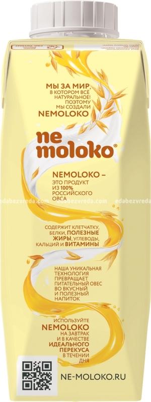 Кисель овсяный с бананом Nemoloko, 250 мл.);