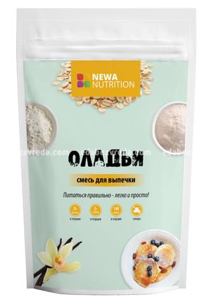 Смесь для высокобелковых оладий и блинчиков Newa Nutrition, 200 г.);