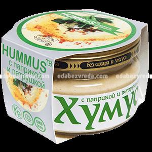 """Закуска """"Тайны Востока-хумус"""" С паприкой и петрушкой, 200 г);"""