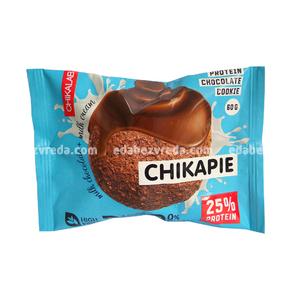 Печенье протеиновое с глазурью Chikapie Шоколадное, 60 г.);