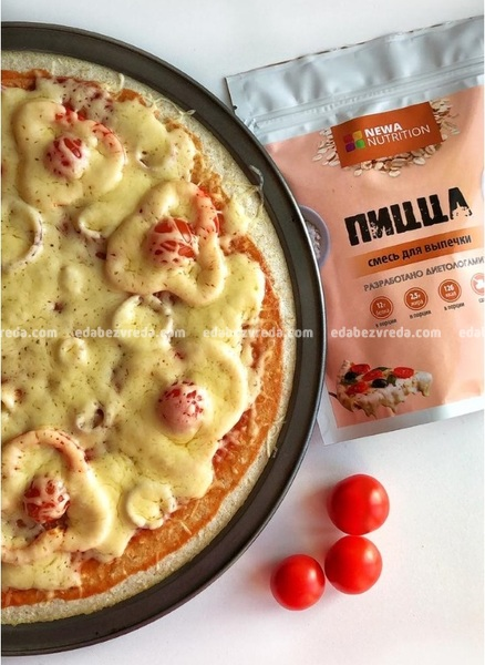 Смесь Newa Nutrition Основа для пиццы, 200 г.