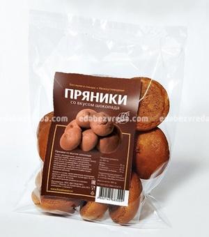 Пряники Fit&Sweet со вкусом шоколада, 100 г