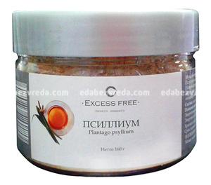 Псиллиум (клетчатка подорожника) Excess Free, 160 г.);