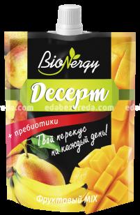 Десерт BioNergy Фруктовый MIX, 140 г);