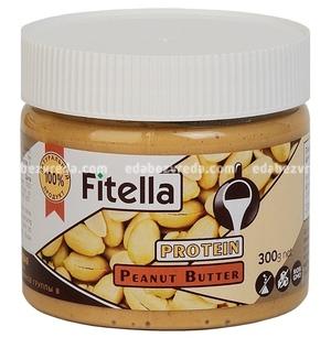 Арахисовая паста протеиновая Fitella, 300 г);