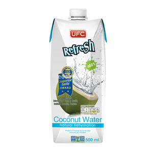 Кокосовая вода Refresh, 500 мл.);