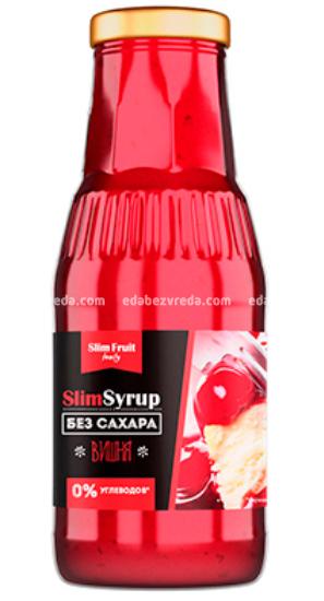 Низкокалорийный сироп Slim Fruit Family Вишня, 310 мл);