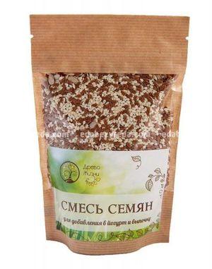 """Смесь семян для йогурта и выпечки """"Источник Жизни"""", 400 г.);"""