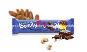 Экомаффины Beauty.Fit Шоколад+Морская соль, 60 г.