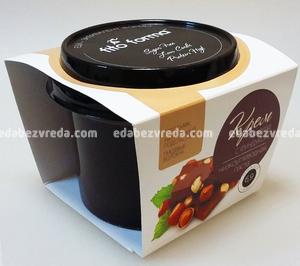"""Низкоуглеводная крем-паста """"Шоколад с фундуком"""" Excess Free, 300 г."""
