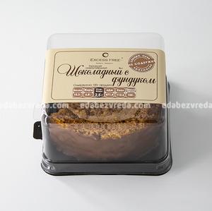 """Торт-рулет Excess Free """"Шоколадный с фундуком"""", 100 г.);"""