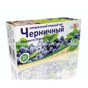 """Натуральный ягодный чай """"Черничный"""" Teavit, 20 пак);"""