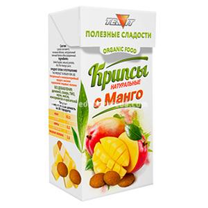 Крипсы яблочные с манго (нежные сухарики) TEAVIT, 30 г.);