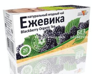 """Натуральный ягодный чай """"Ежевичный"""" Teavit, 20 пак"""