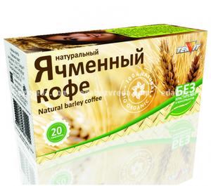Кофе ячменный молотый Teavit, 20 пакетиков);