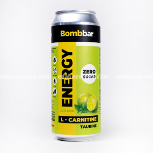 """Напиток серии """"L-Карнитин"""" BOMBBAR (Лайм-Мята), 0.5 л."""