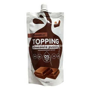 Топпинг шоколадный пудинг BOMBBAR, 240 г.);