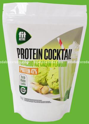 """Коктейль белковый с L-карнитином и гуараной Fit Active """"Фисташковое мороженое"""", 300 г.);"""