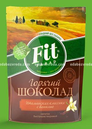 Горячий шоколад Fit Parad со вкусом ванили, 200 г);