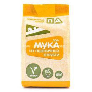 """Мука из пшеничных отрубей """"Продуктовая Аптека"""", 300 г.);"""