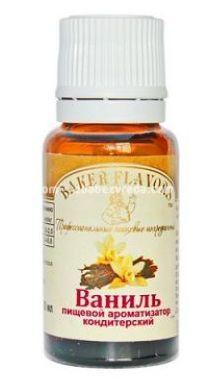 Ароматизатор пищевой Baker Flavors Ваниль, 10 мл);