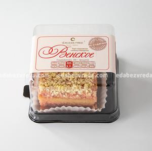 """Торт-пирожное Excess Free """"Венское"""", 180 г);"""