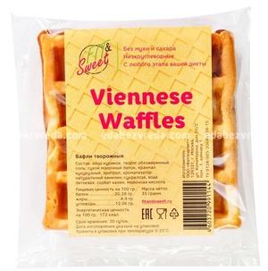 Венская Вафля Viennese Waffles Fit&Sweet, 35 г );