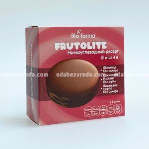 Десерт низкоуглеводный FrutoLite Fito Forma Вишня, 55 г.);