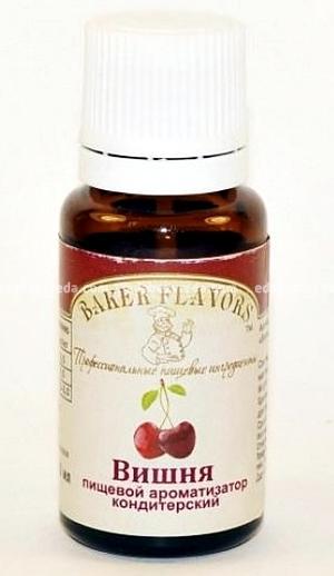 Ароматизатор пищевой Baker Flavors Вишня, 10 мл);