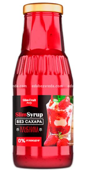 Низкокалорийный сироп Slim Fruit Family Клубника, 310 мл);