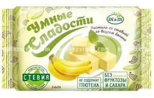 """Пастила """"Умные сладости"""" со вкусом банана, 160 г"""