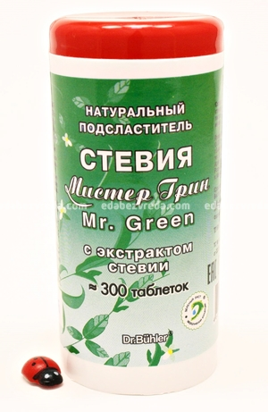 "Заменитель сахара ""Мистер Грин"", 300 таблеток);"